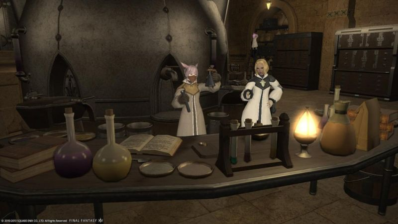 Alchemist and Culinarian